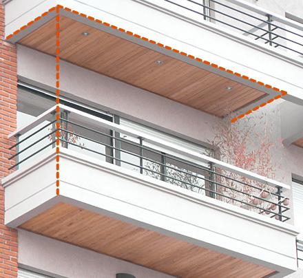 Como tomar medidas for Cuanto cuesta un toldo para balcon